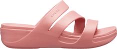 Crocs Klapki damskie Crocs Mont erey Wedge W Blossom 206304-682