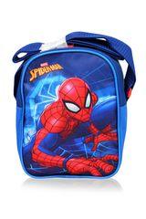 SETINO Chlapčenská taška cez plece Spiderman - modrá