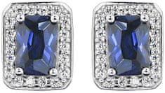 JVD Błyszczące srebro Kolczyki SVLE0147SH8M100 srebro 925/1000