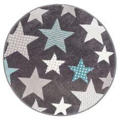 Sintelon Kusový koberec Pastel Kids 49/GSG kruh