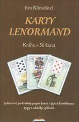 Eva Klimešová: Karty Lenormand - Kniha + 36 karet