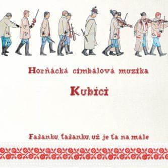 Horňácká cimbálová muzika Kubíci: Fašanku, fašanku, už je ťa namále - CD