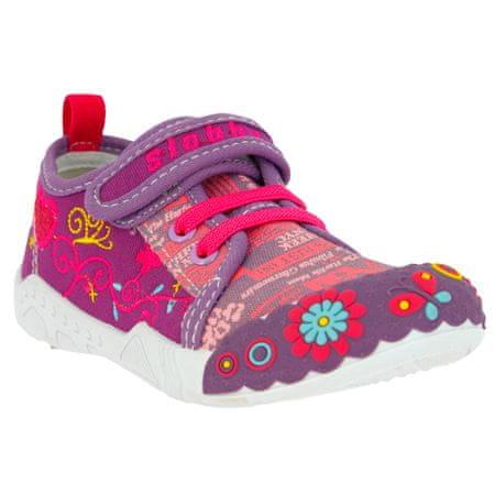 V+J buty dziewczęce 43-0003-S8 26 fioletowe
