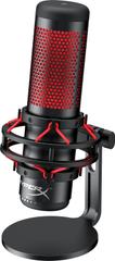 Kingston mikrofon gamingowy HyperX Quadcast, czarny/czerwony (HX-MICQC-BK)