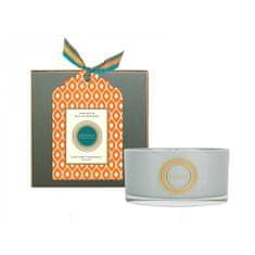 Abahna Vonná svíčka Mandarin & Sicilian Bergamot se 3 knoty