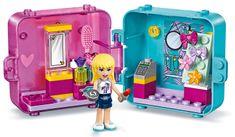 LEGO zestaw Friends 41406 pudełko do zabawy: Stephanie i moda