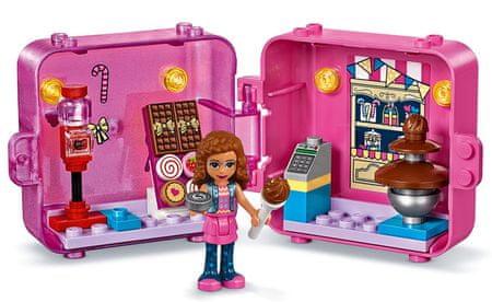 LEGO Friends 41407 Játékdoboz: Olivia és a sütik