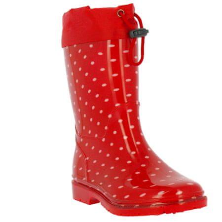 V+J otroški škornji 166-0003-T1, 30, rdeči