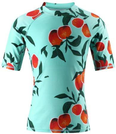 Reima dziewczęca koszulka kąpielowa Ionian 110 niebieska