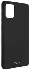 Fixed Zadný pogumovaný kryt Story pre Samsung Galaxy A71 FIXST-487-BK, čierna