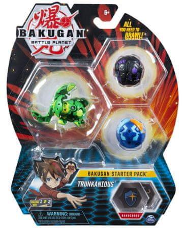 Bakugan začetni komplet Trunkanious, 3 kosi