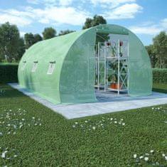 Szklarnia ogrodowa, stalowa konstrukcja, 13,5m², 450x300x200cm