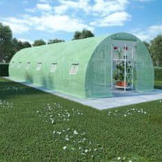 Szklarnia ogrodowa, stalowa konstrukcja, 27 m², 900x300x200 cm