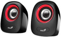 Genius SP-Q160, čierna/červená (31730027401)