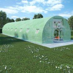Szklarnia ogrodowa, stalowa konstrukcja, 36 m², 1200x300x200 cm