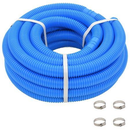 shumee Cev za bazen z objemkami 38 mm 12 m modra