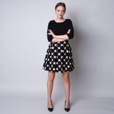 Willsoor Krátké šaty s puntíkovaným vzorem 11330