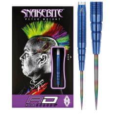 Reddragon Šípky steel Peter Wright Snakebite 22g PL15 Blue, 90% Wolfram
