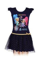 """SETINO Sukienka dla dzieci """"Shimmer Si Shine"""" - czarny"""