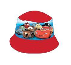 SETINO Chlapčenský klobúk Cars - červená