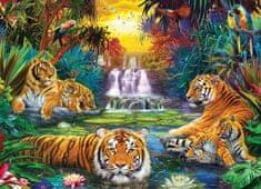 EuroGraphics Puzzle 500 db XXL db - Tiger's Eden