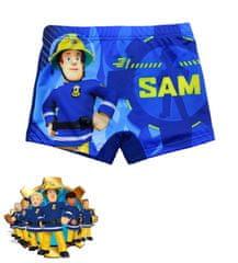 "SETINO Chlapčenské plavky boxerky ""Požiarnik Sam"" - tmavo modré"