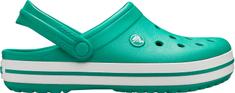 Crocs Głębokie Crocband męskie ze Crocband Green / White 11016-3TL