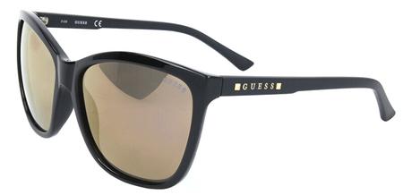 Guess damskie okulary przeciwsłoneczne, niebieskie | MALL.PL