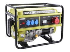 Extol Craft Elektrocentrála benzínová, 13HP/5,5kW (400V) 3x1,8kW (230V)