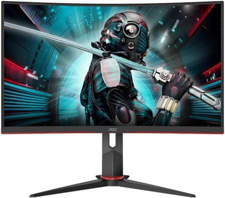 AOC CQ27G2U/BK LED monitor, 68,6 cm, 2560 x 1440
