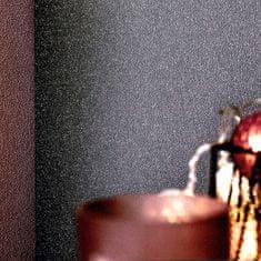 Netkané tapetové rolky 4 ks, jednofarebné, tmavosivé 0,53x10 m