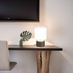 shumee Stolové lampy 2 ks, dotykové tlačidlo, biele E14
