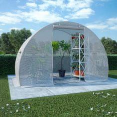 Szklarnia ogrodowa, stalowa konstrukcja, 4,5 m², 300x150x200 cm