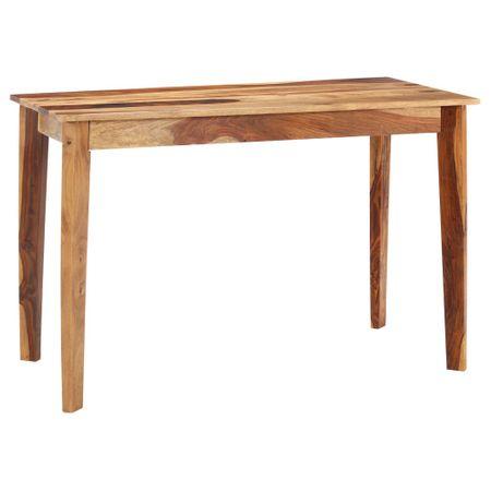 slomart Jedilna miza 118x60x76 cm trden palisander