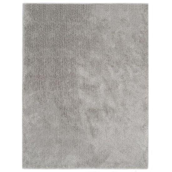 Chlpatý koberček sivý 160x230 cm