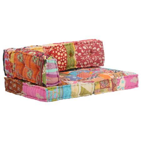 shumee Puf, patchwork, tkanina