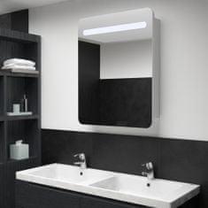 Vidaxl LED koupelnová zrcadlová skříňka 60 x 11 x 80 cm