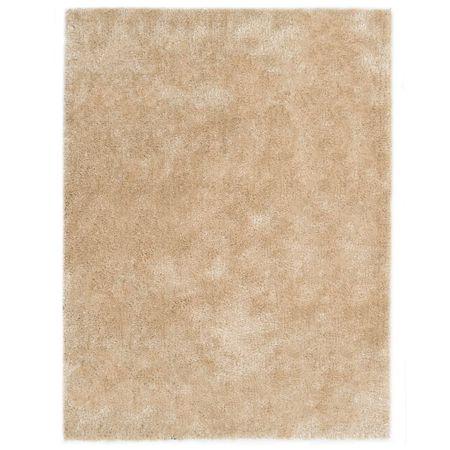 Dywan shaggy, 80 x 150 cm, beżowy