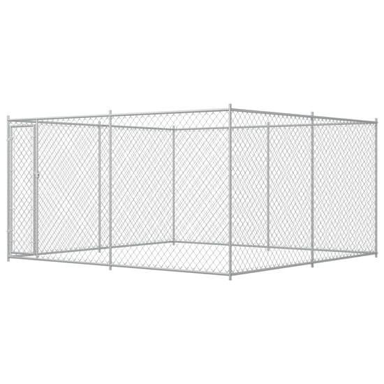 Vonkajšia voliéra pre psy 383x383x185 cm