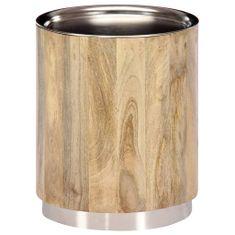 Konferenčný stolík 38x45 cm masívne mangovníkové drevo