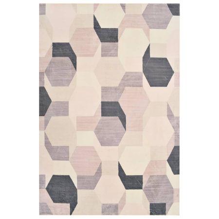 shumee többszínű mintás poliészterszőnyeg 120 x 170 cm