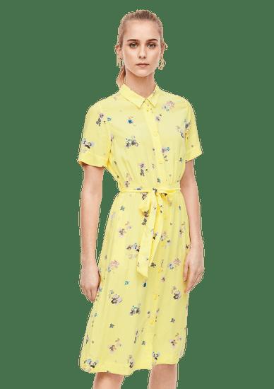Q/S designed by dámske šaty 41.003.82.2535, 34, žltá