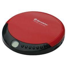 Roadstar CD prehrávač , PCD-435CD, CD/CD-R/CD-RW, červený