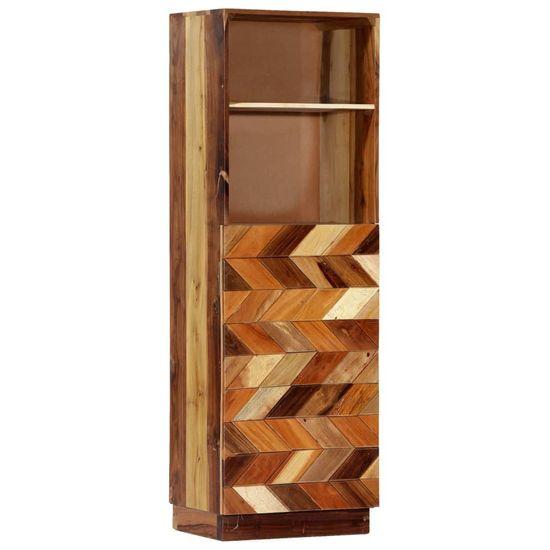 Vysoká skrinka 40x32x122 cm masívne recyklované drevo