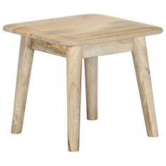 Konferenčný stolík 45x45x40 cm masívne mangovníkové drevo
