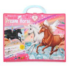 Miss Melody Kolorowanka, kreatywny zestaw Miss Melody, Dream Horse, 305 naklejek