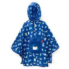 Reisenthel Płaszcz przeciwdeszczowy Reisenthel, Zwierzęta, niebieskie mini maxi ponczo M dla dzieci