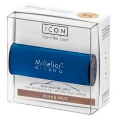 Millefiori Milano Vôňa do auta , Icon, Classic/Drevo a korenie, modrá