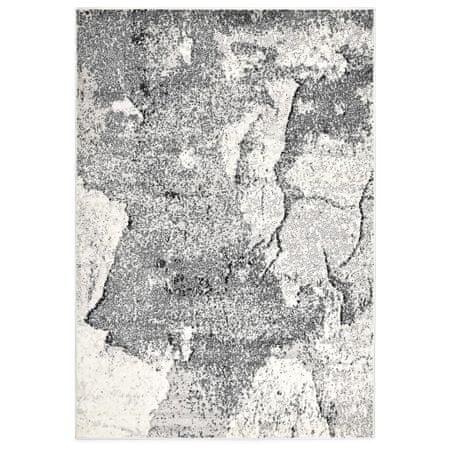Dywan, szary, 120 x 170 cm, PP