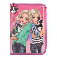 Top Model Ceruzatok top Model felszereléssel, Június és Jill, csillogó rózsaszínű